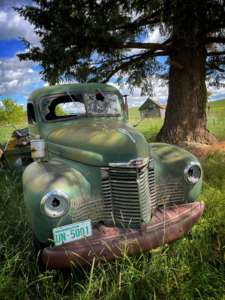 Old abandoned trucks, ever one of these has a story
